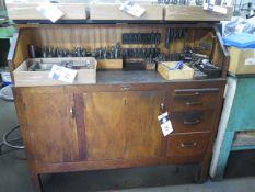 Moore Oak Tooling Cabinet(SOLD AS-IS - NO WARRANTY)