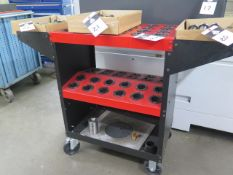 Huot Toolscoot 40-Taper Tooling Cart(SOLD AS-IS - NO WARRANTY)
