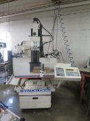 Dyna Myte 4400 CNC VMC w/ Dyna 44M Controls, 10-Station ATC, CAT-30 Taper, SOLD AS IS
