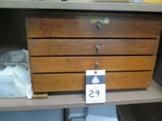 """Meyer Pin Gage Cabinet .060""""-.750"""" (SOLD AS-IS - NO WARRANTY)"""