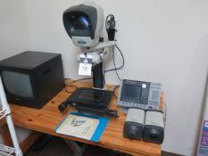 "Vision Kestrel ""Dynascope"" Video measuring Scope w/ Quadra-Chek 200 Programmable DRO, SOLD AS IS"