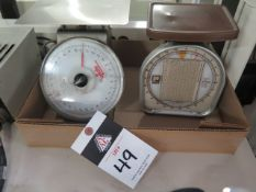 Postage Scales (2) (SOLD AS-IS - NO WARRANTY)
