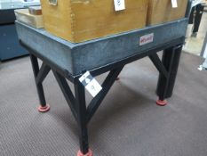 """Mojave 36"""" x 48"""" x 6"""" Granite Surface Plate w/ Stand (SOLD AS-IS - NO WARRANTY)"""
