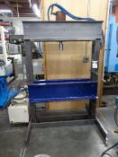Hydraulic H-Frame Press (SOLD AS-IS - NO WARRANTY)