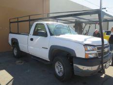 2005 Chevrolet Silverado 2500HD Pickup Truck Lisc# 00097Y1 w/ 6L Vortec V8 Gas Engine. Automatic Tra