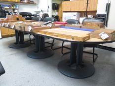 Conference Table w/ (8) Chairs (SOLD AS-IS - NO WARRANTY)