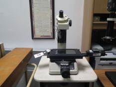 Mitutoyo mdl. TM Tool Makers Microscope w/ Digital Mic Heads, Light Source (SOLD AS-IS - NO
