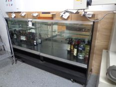 Glass Display Case (NO CONTENTS) (SOLD AS-IS - NO WARRANTY)