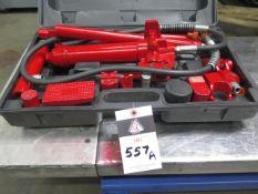 Torin Hydraulic Ram Set (SOLD AS-IS - NO WARRANTY)