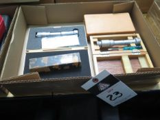 Mitutoyo, SPI and Brown & Sharpe ID Mics (4) (SOLD AS-IS - NO WARRANTY)