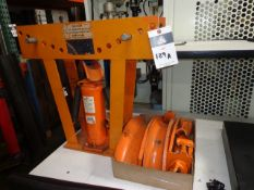 10 Ton Hydraulic Pipe Bender (SOLD AS-IS - NO WARRANTY)