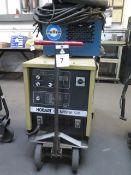 Hobart Arcmaster-500 Arc Welding Power Source w/ Miller Radiator-1 Cooler (SOLD AS-IS - NO
