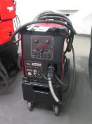 Lincoln C300 Power Wave Arc Welding Power Source and Wire Feeder (SOLD AS-IS - NO WARRANTY)