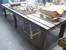 4' x 12' T-Slot Forming Table (SOLD AS-IS - NO WARRANTY)