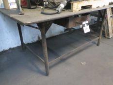 """48"""" x 72"""" Steel Welding Table (SOLD AS-IS - NO WARRANTY)"""