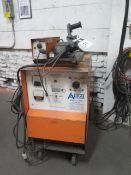 Airco CV-600 FC-Dip Arc Welding Power Source w/ Miller 60 Series Wire Feeder (SOLD AS-IS - NO