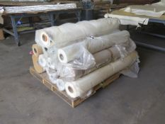 Rolled Plastic Sheeting (SOLD AS-IS - NO WARRANTY)