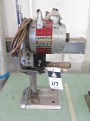 """Eastman """"Ultronic"""" mdl. 625 Fabric Saw (SOLD AS-IS - NO WARRANTY)"""