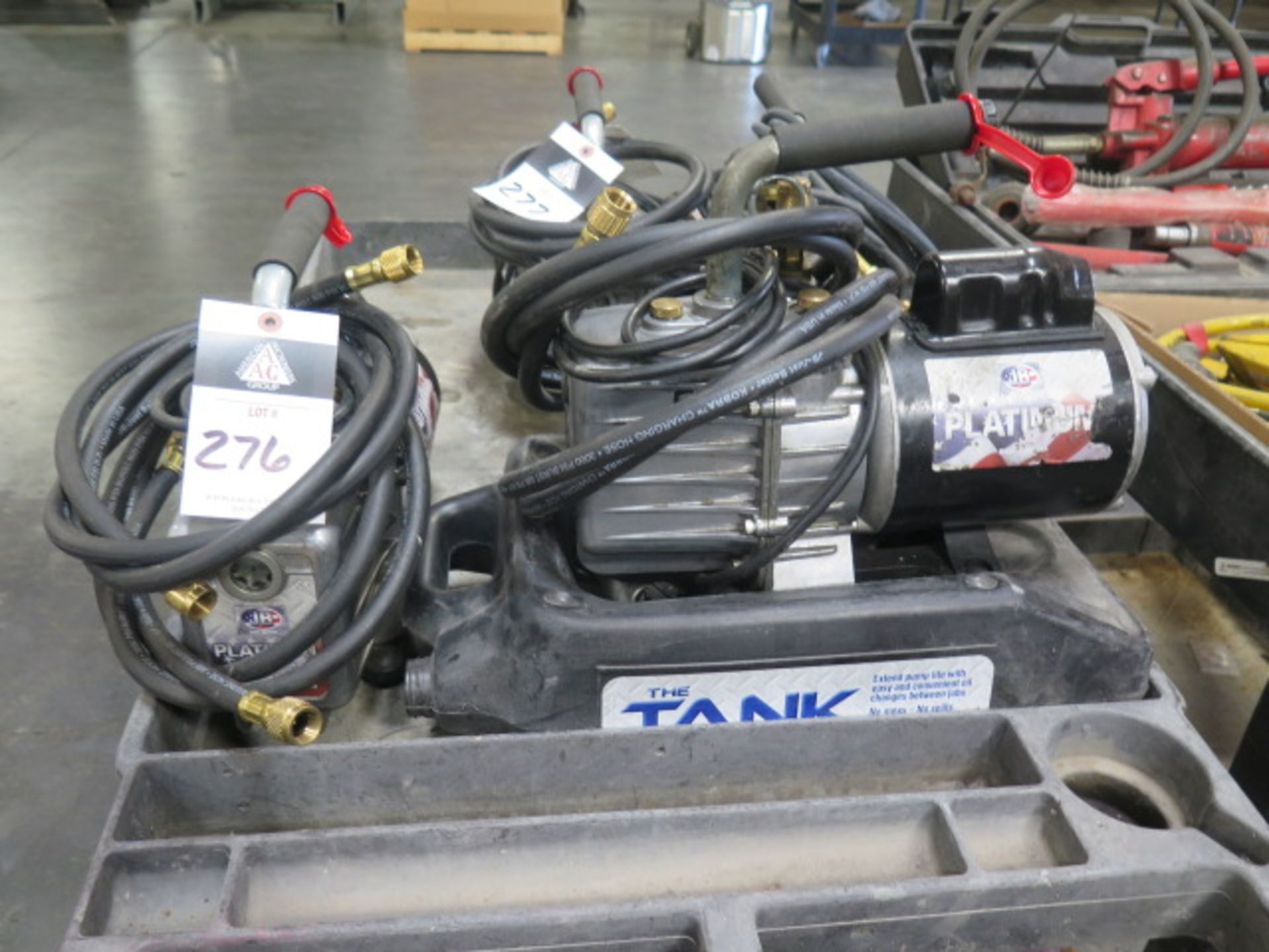 JB Platinum Vacuum Pumps (2) (SOLD AS-IS - NO WARRANTY)
