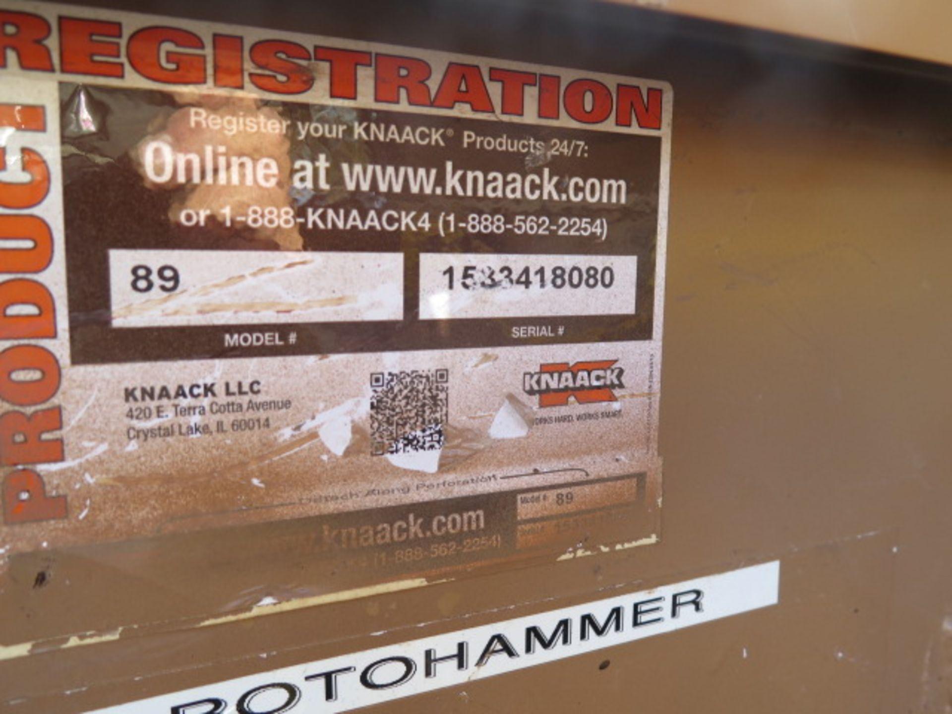 Knaack mdl. 89 Storagemaster Rolling Job Box (SOLD AS-IS - NO WARRANTY) - Image 12 of 12