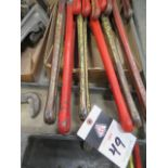 """Ridgid 24"""" Pipe Wrenches (6) (SOLD AS-IS - NO WARRANTY)"""