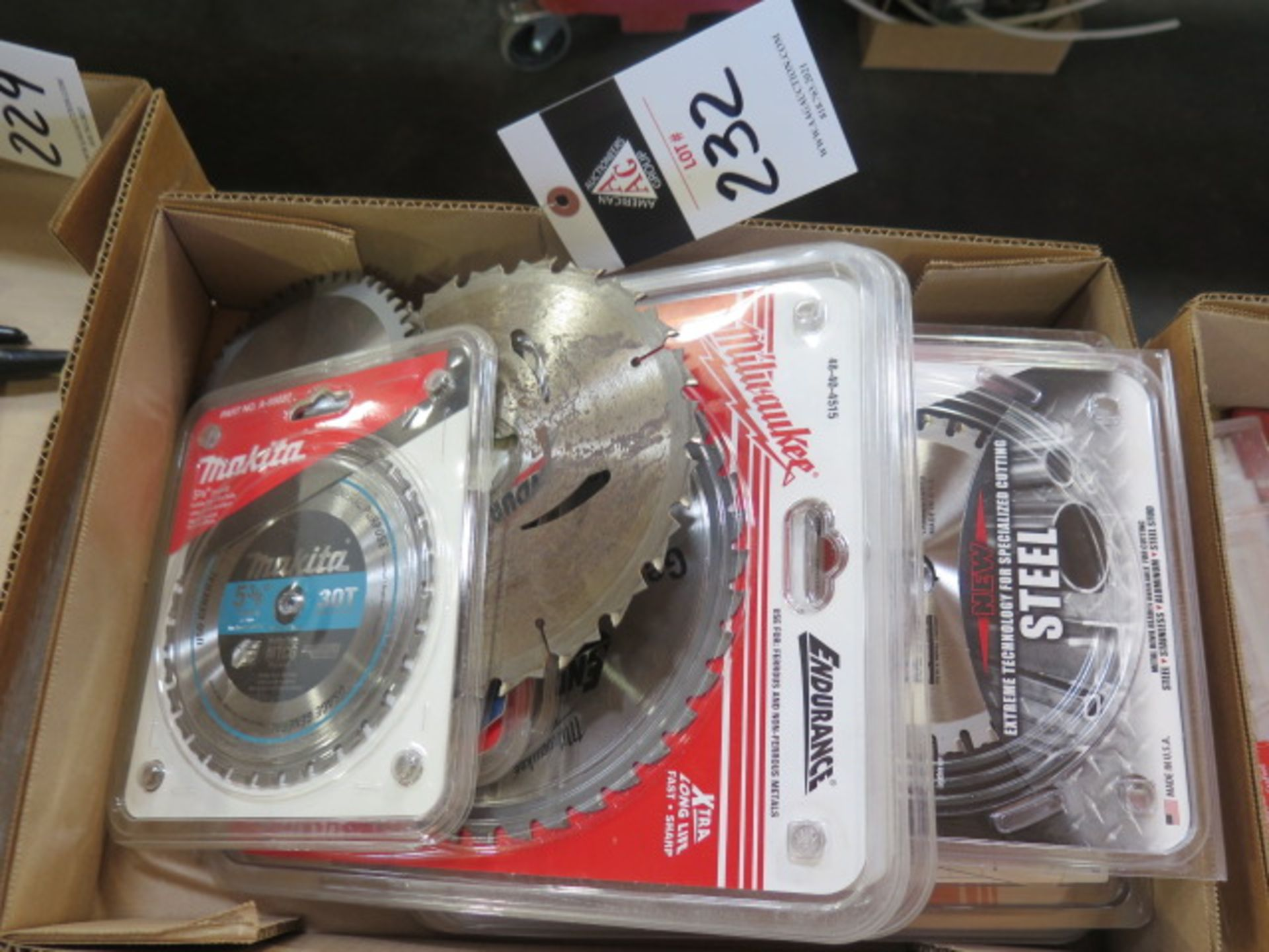 """5 3/8"""" to 8"""" Saw Blades (SOLD AS-IS - NO WARRANTY) - Image 2 of 10"""
