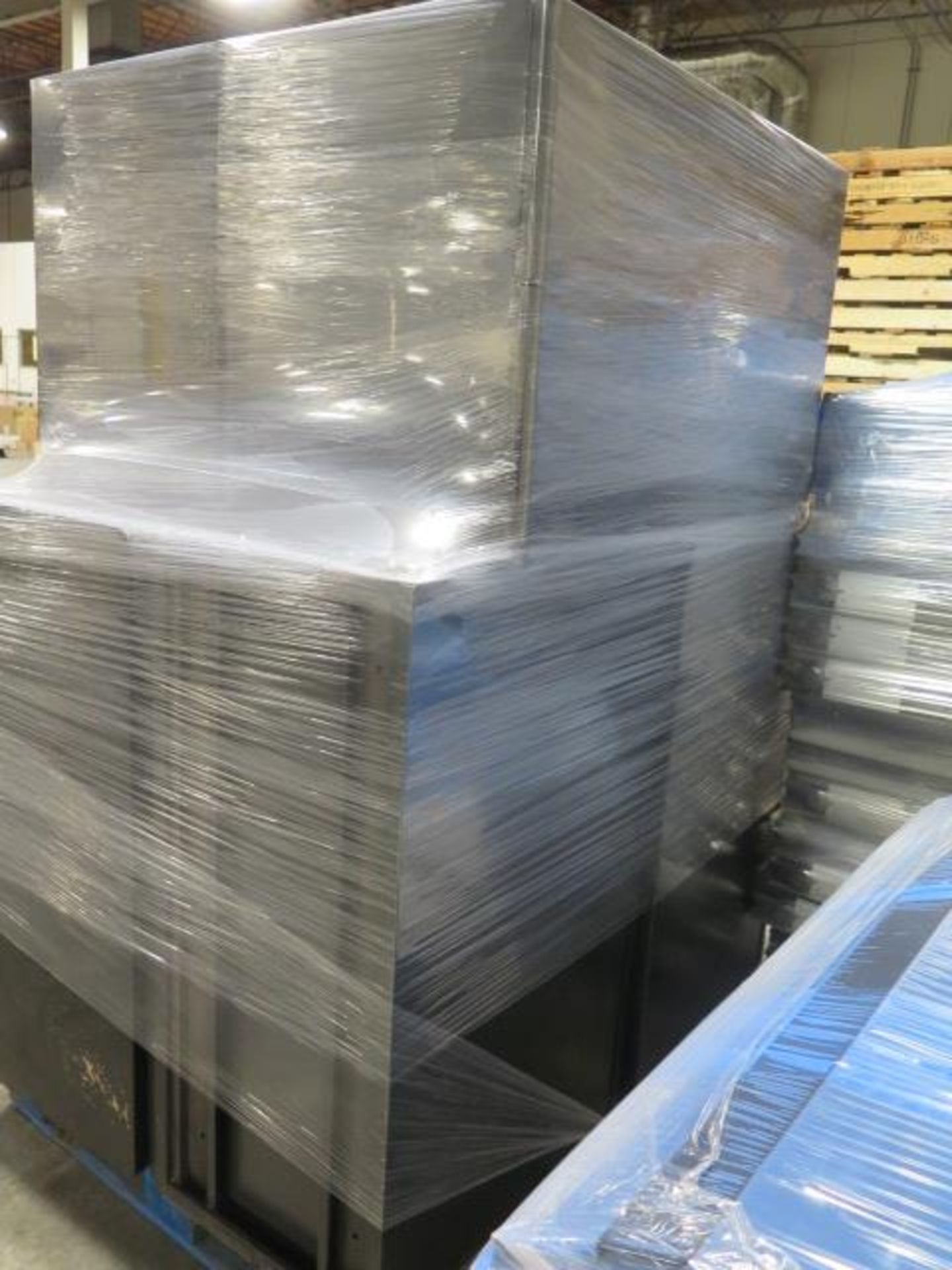 Large Quantity of Office Partitions, Desks, File Cabinets and Storage Cabinets (SOLD AS-IS - NO WARA - Image 7 of 24