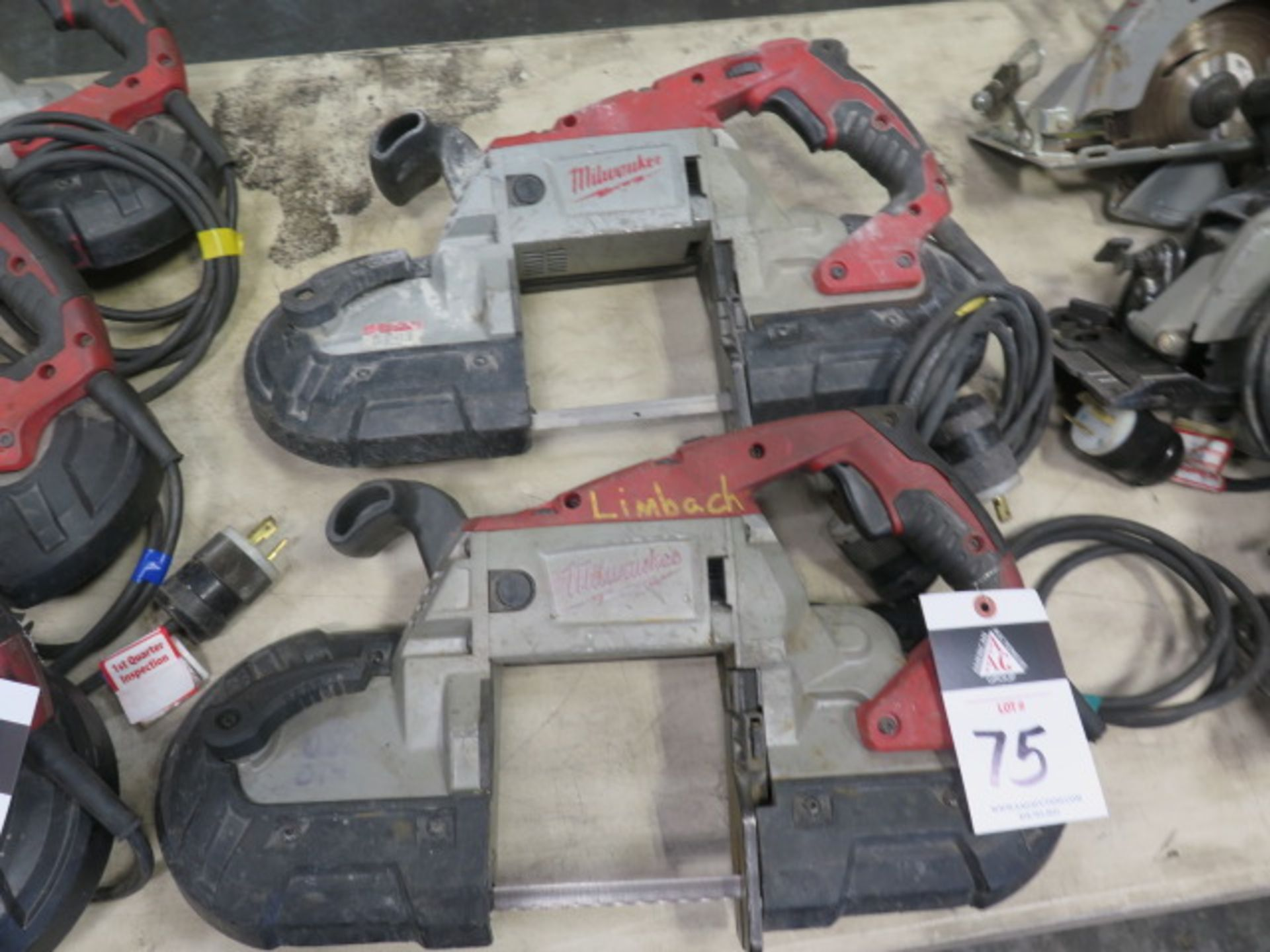 Milwaukee Deep Cut Band Saws (2) (SOLD AS-IS - NO WARRANTY) - Image 2 of 6