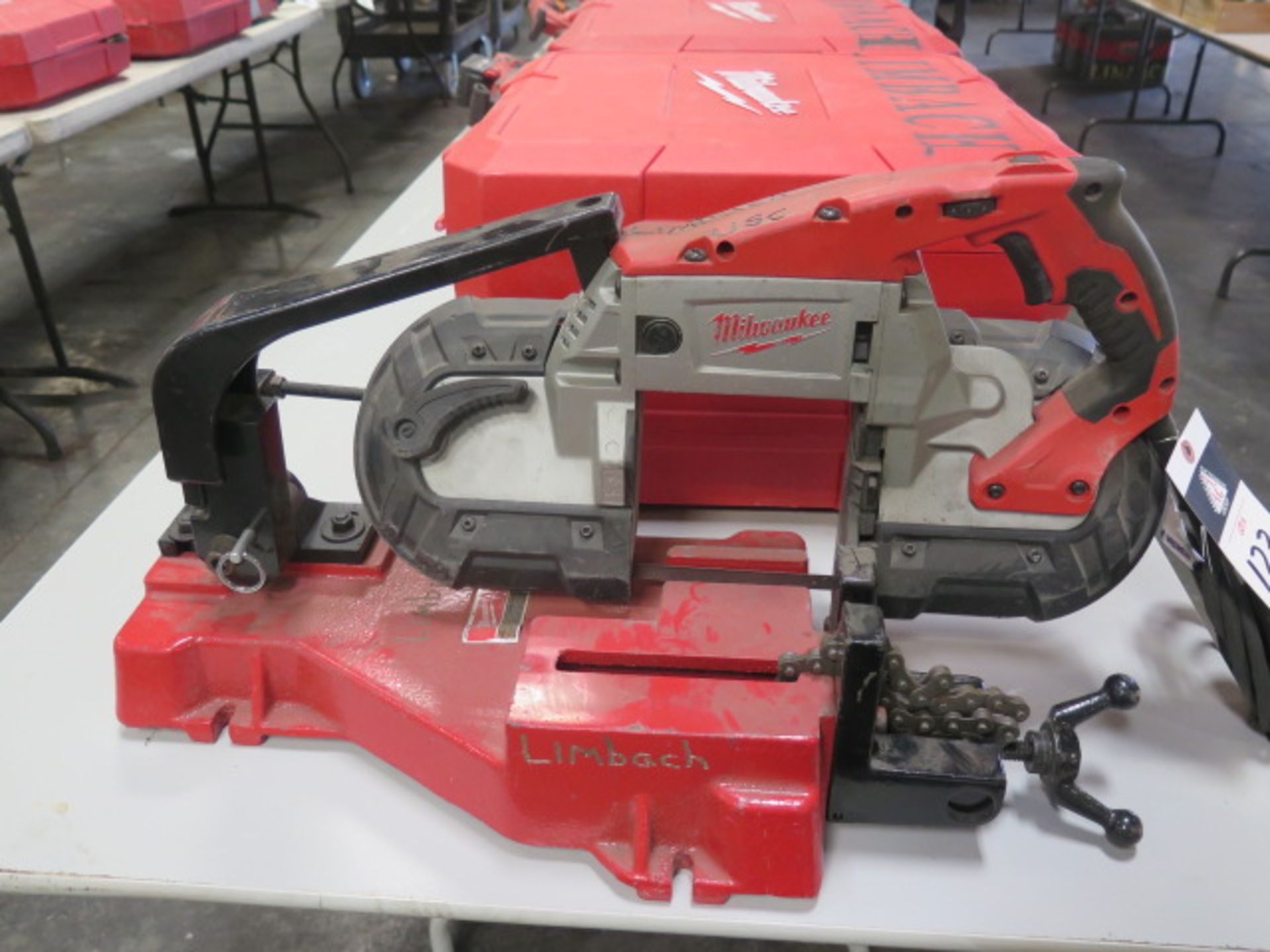 Milwaukee Deep Cut Electric Band Saw w/ Saw Stand (SOLD AS-IS - NO WARRANTY) - Image 2 of 5