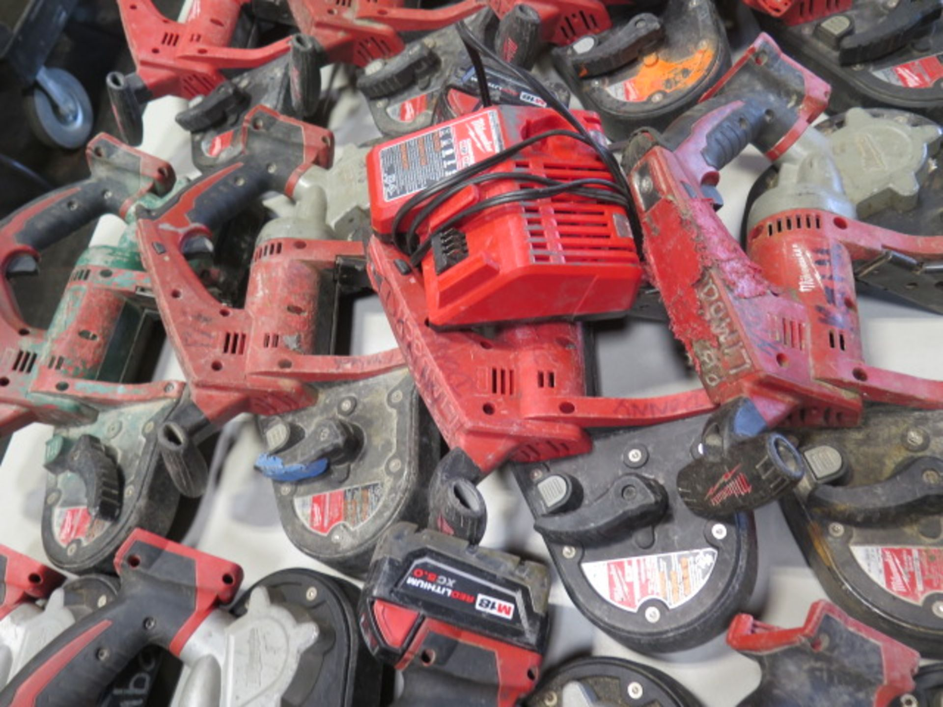 Milwaukee 18 Volt Compact Portable Band Saws (4) (SOLD AS-IS - NO WARRANTY) - Image 3 of 7