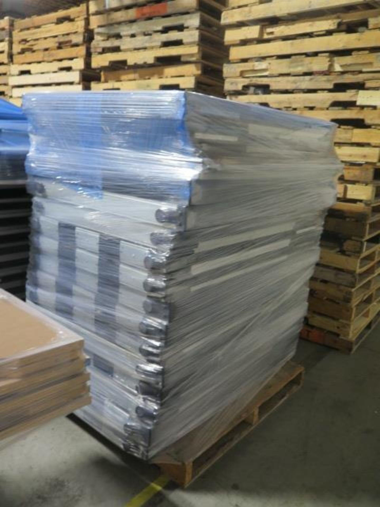 Large Quantity of Office Partitions, Desks, File Cabinets and Storage Cabinets (SOLD AS-IS - NO WARA - Image 10 of 24