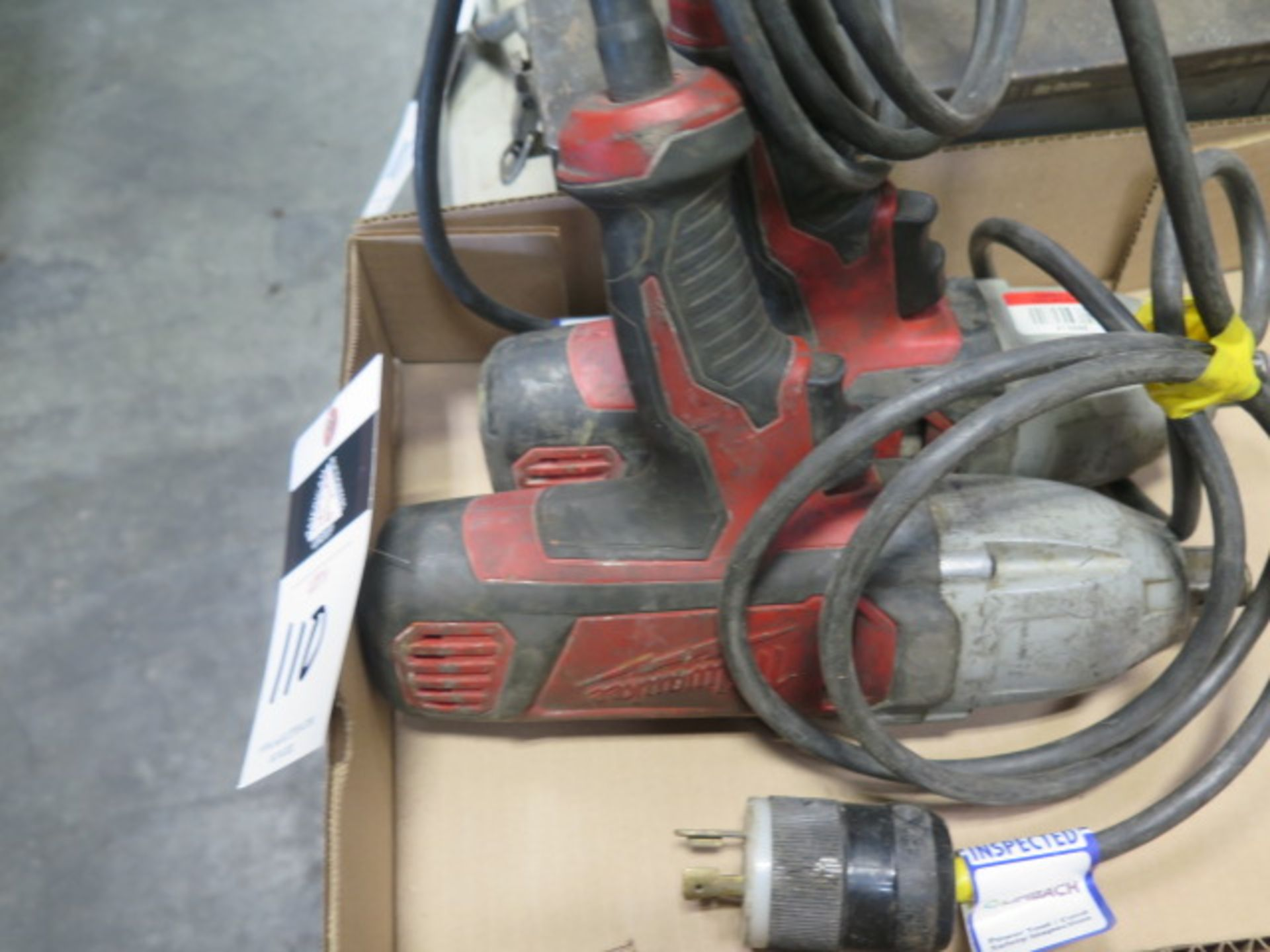 """Milwaukee 3/4"""" Electric Impacts (2) (SOLD AS-IS - NO WARRANTY) - Image 3 of 5"""