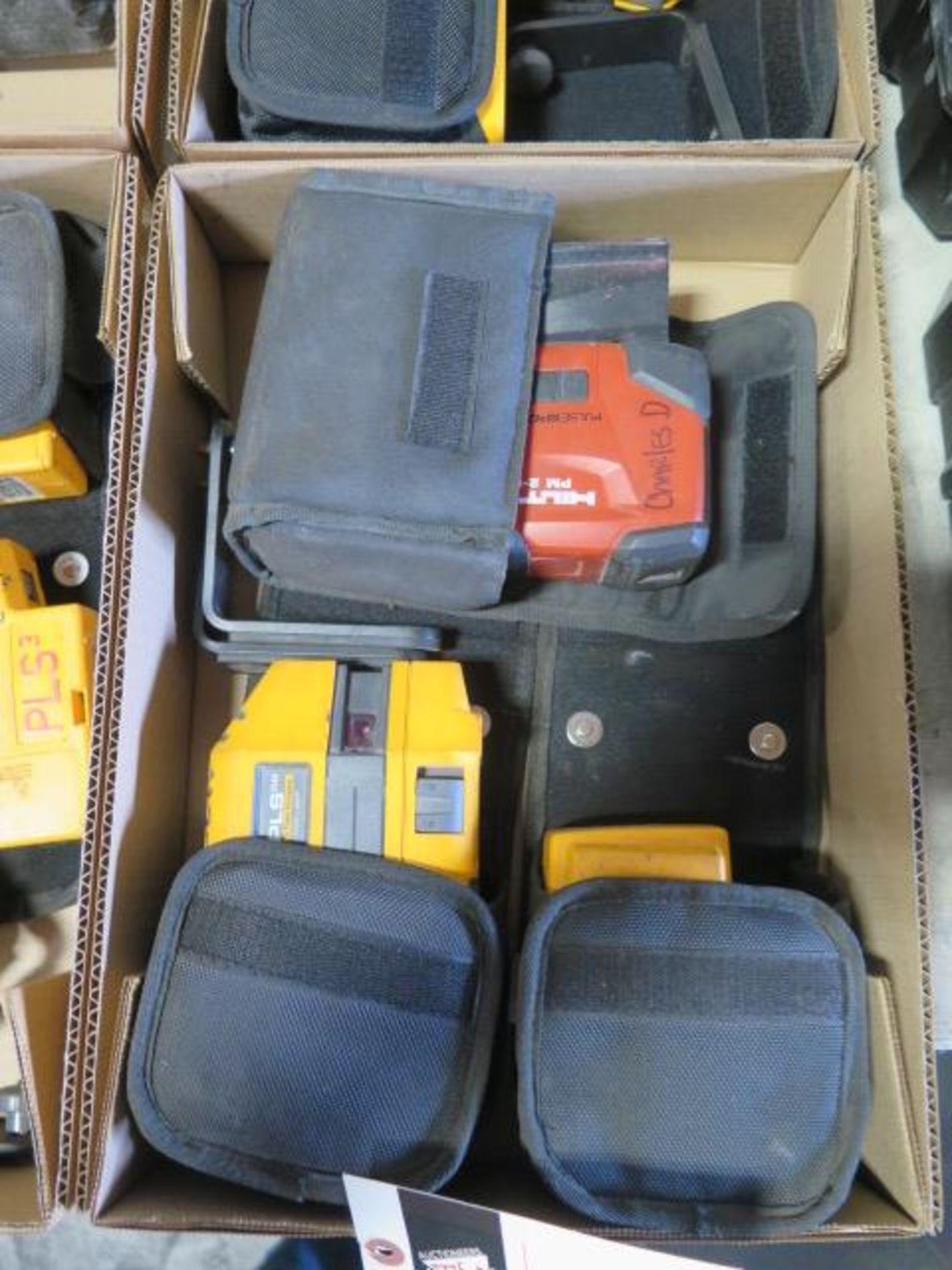 Hilti PM2-P Plumb Laser, Fluke PLS 5G 5-Point Laser Level and Fluke PLS 4 4-Point SOLD AS IS - Image 2 of 5