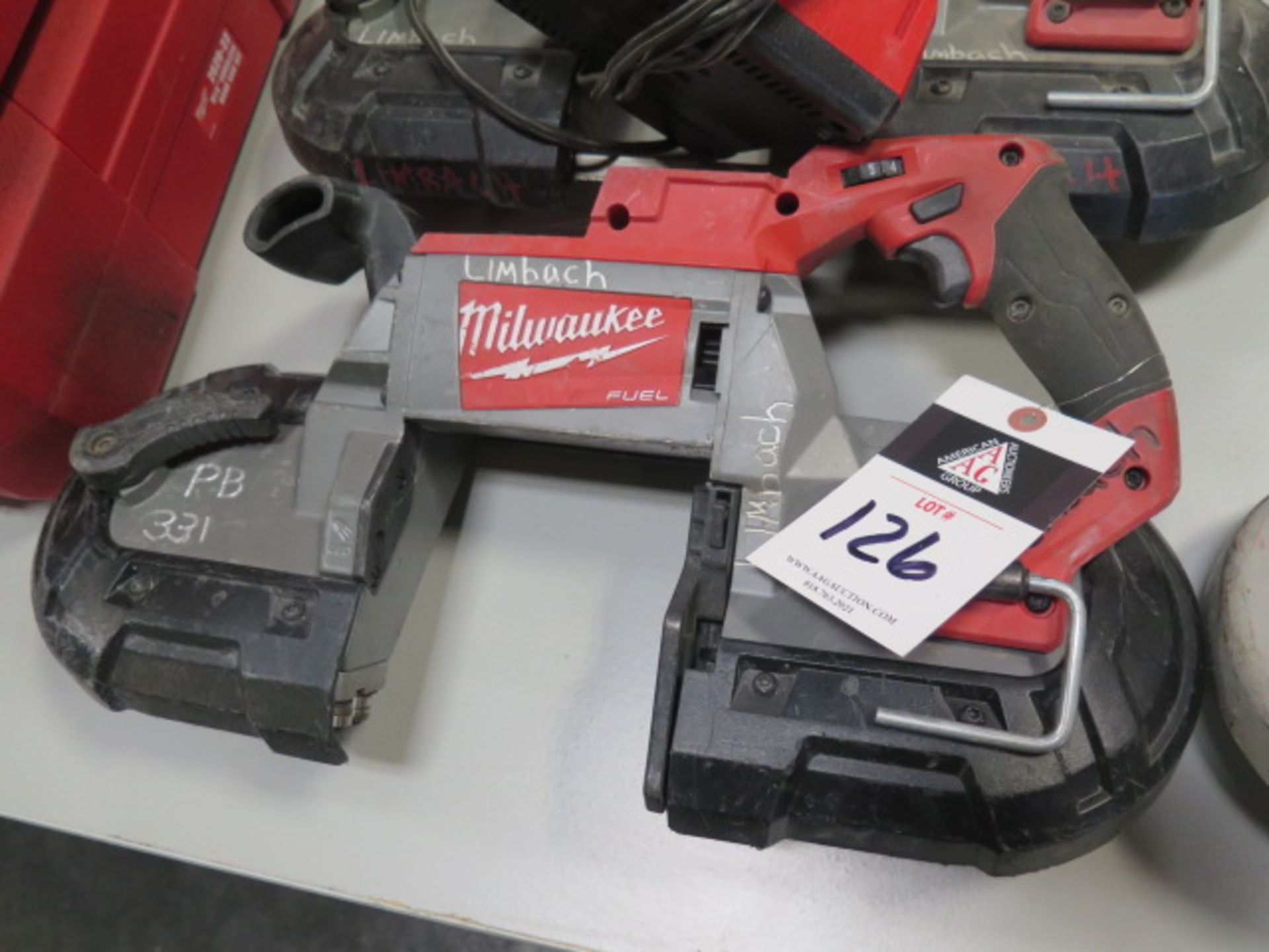 Milwaukee 18 Volt Portable Band Saws (3) (SOLD AS-IS - NO WARRANTY) - Image 3 of 7