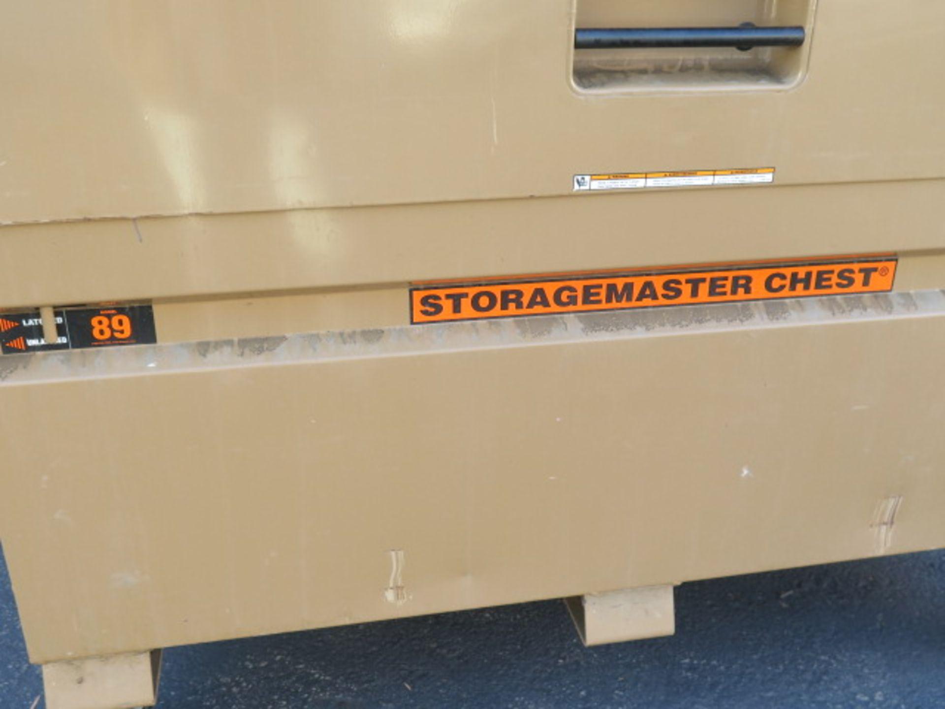 Knaack mdl. 89 Storagemaster Rolling Job Box (SOLD AS-IS - NO WARRANTY) - Image 4 of 11