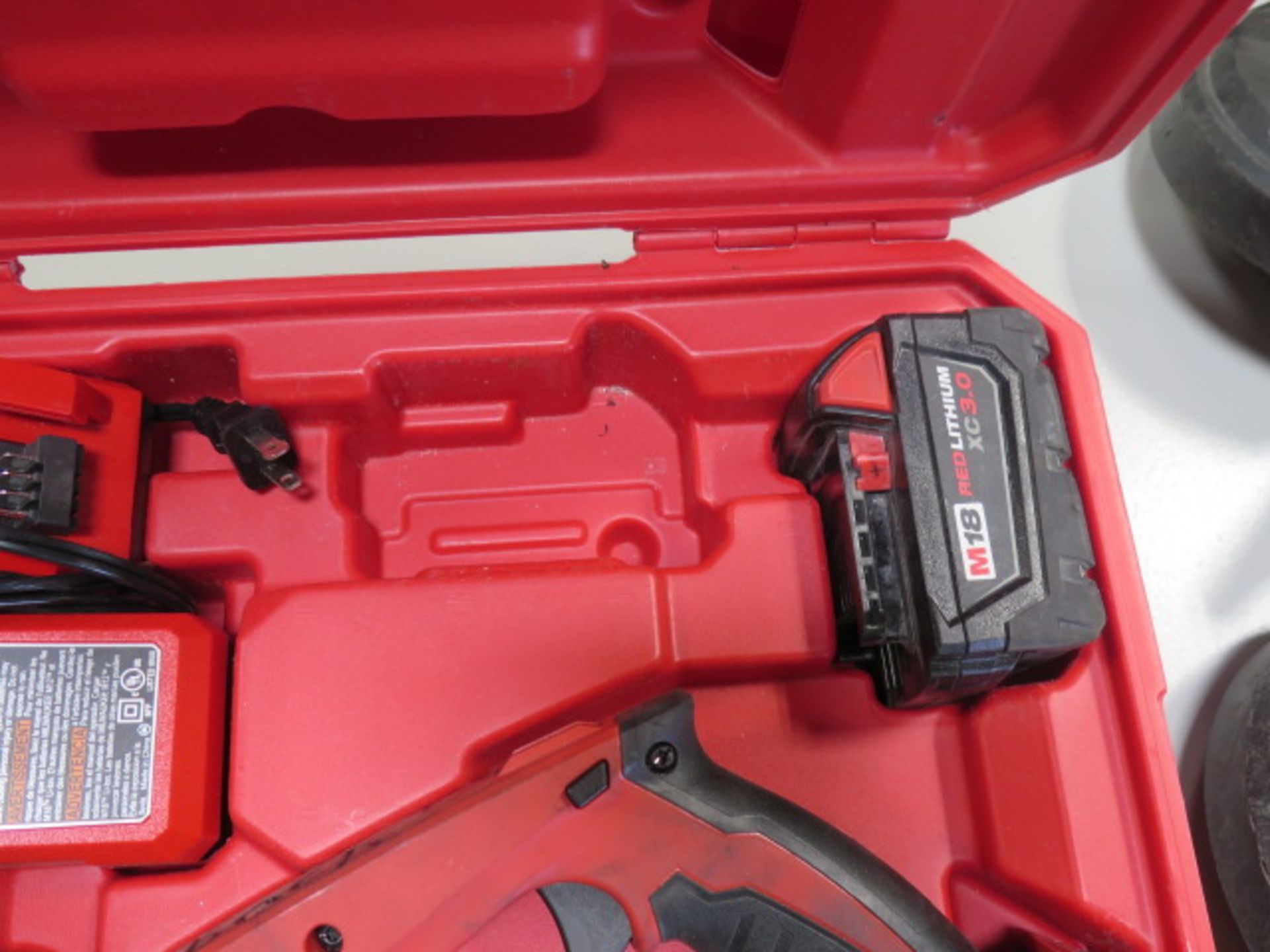 Milwaukee 18 Volt Compact Portable Band Saw Sets (2) (SOLD AS-IS - NO WARRANTY) - Image 9 of 10