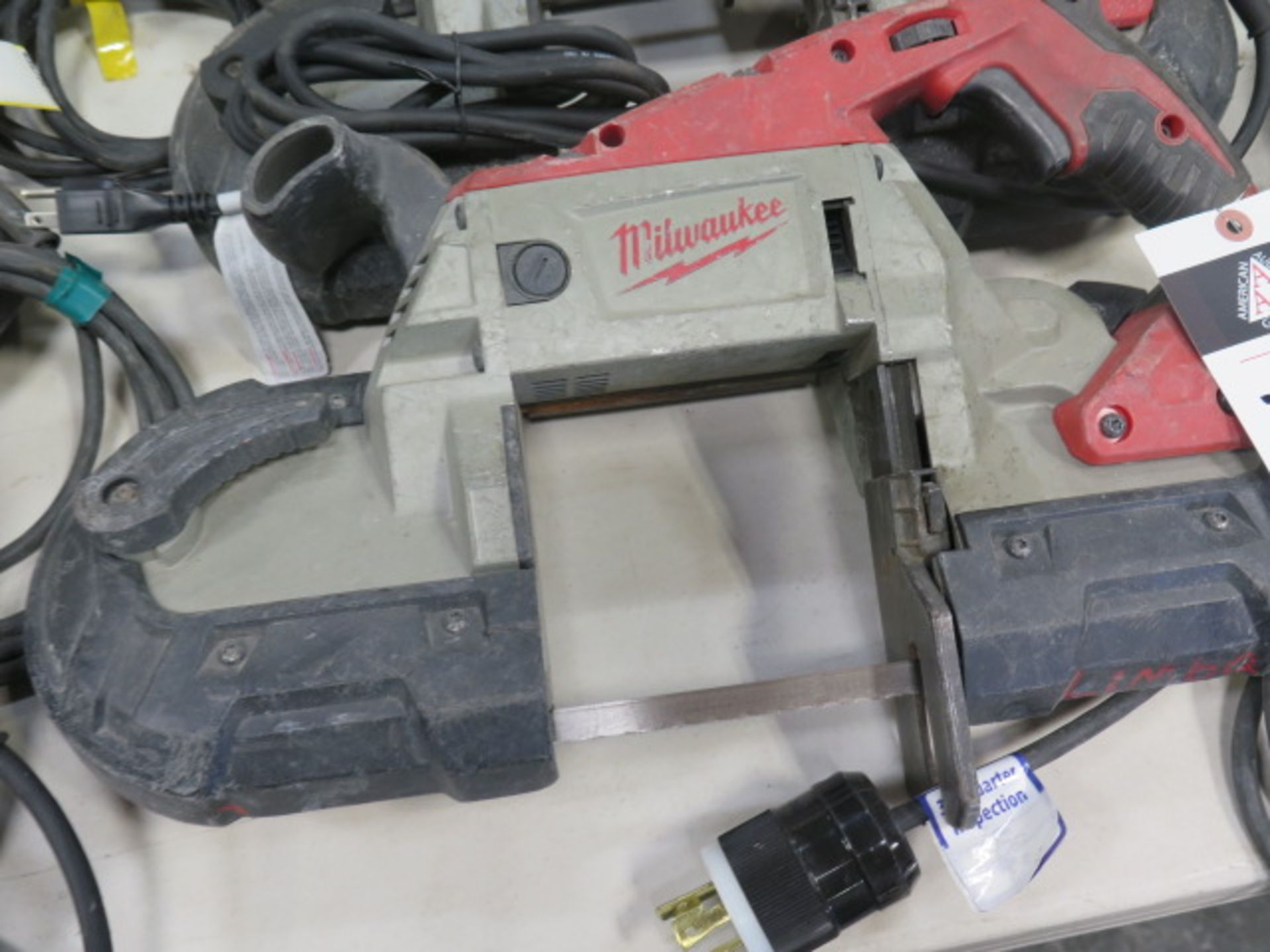 Milwaukee Deep Cut Band Saws (3) (SOLD AS-IS - NO WARRANTY) - Image 3 of 6