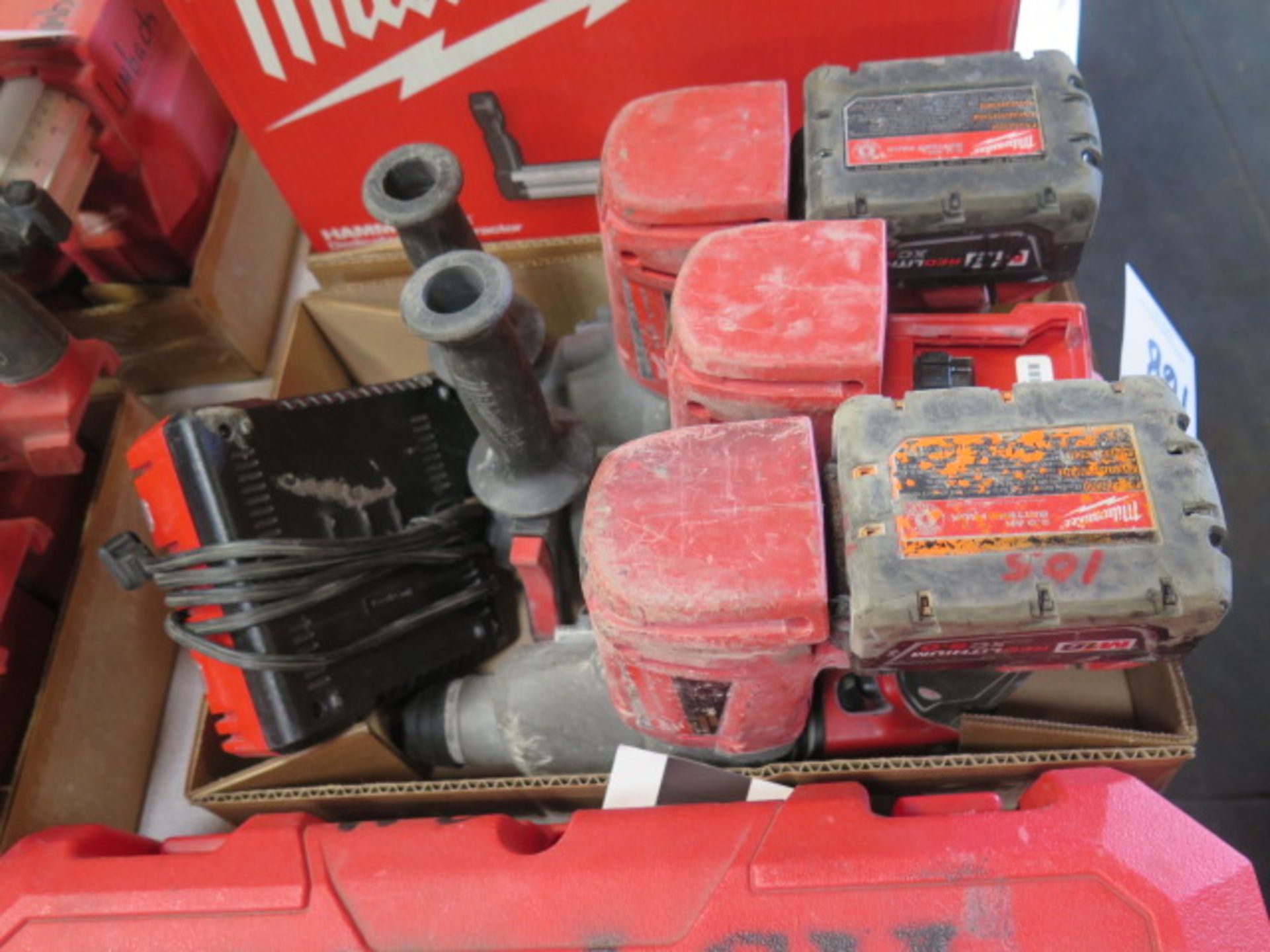 """Milwaukee 18 Volt 1"""" Rotary Hanners (3) (SOLD AS-IS - NO WARRANTY) - Image 2 of 5"""