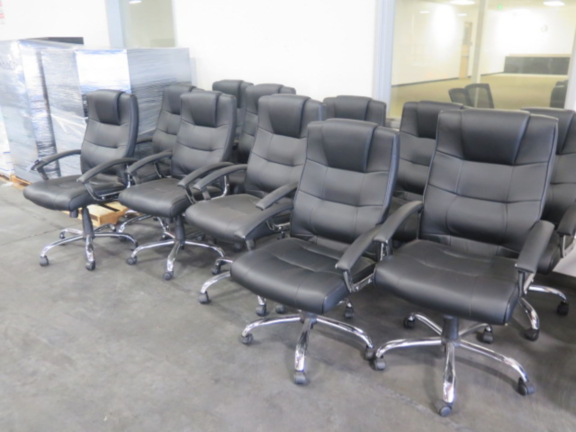 Conference / Office Chairs (11) (SOLD AS-IS - NO WARRANTY) - Image 2 of 4