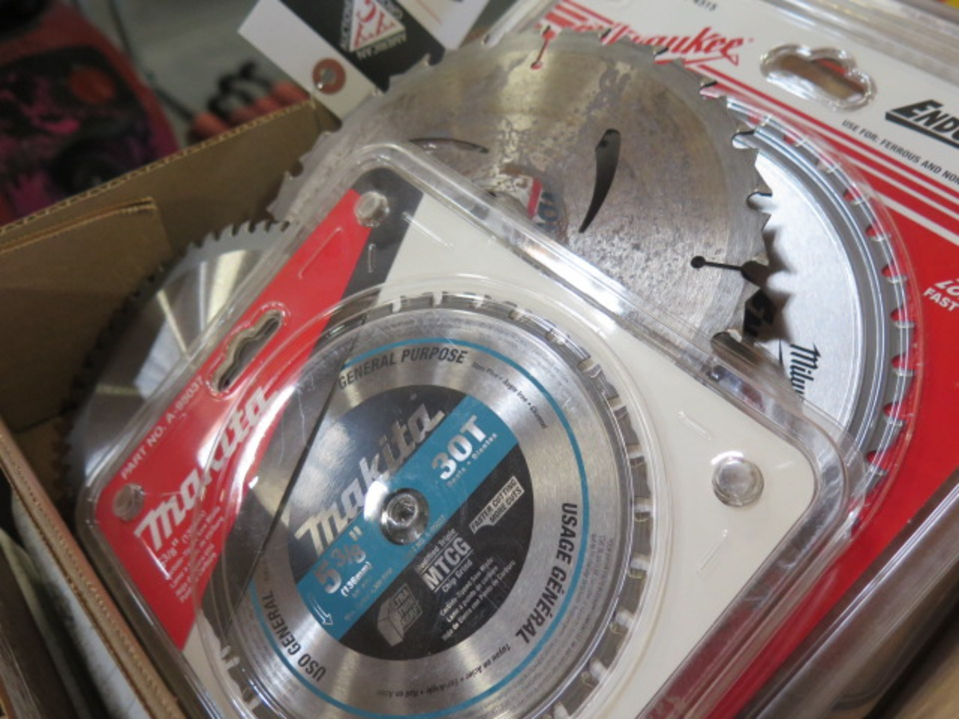 """5 3/8"""" to 8"""" Saw Blades (SOLD AS-IS - NO WARRANTY) - Image 3 of 10"""