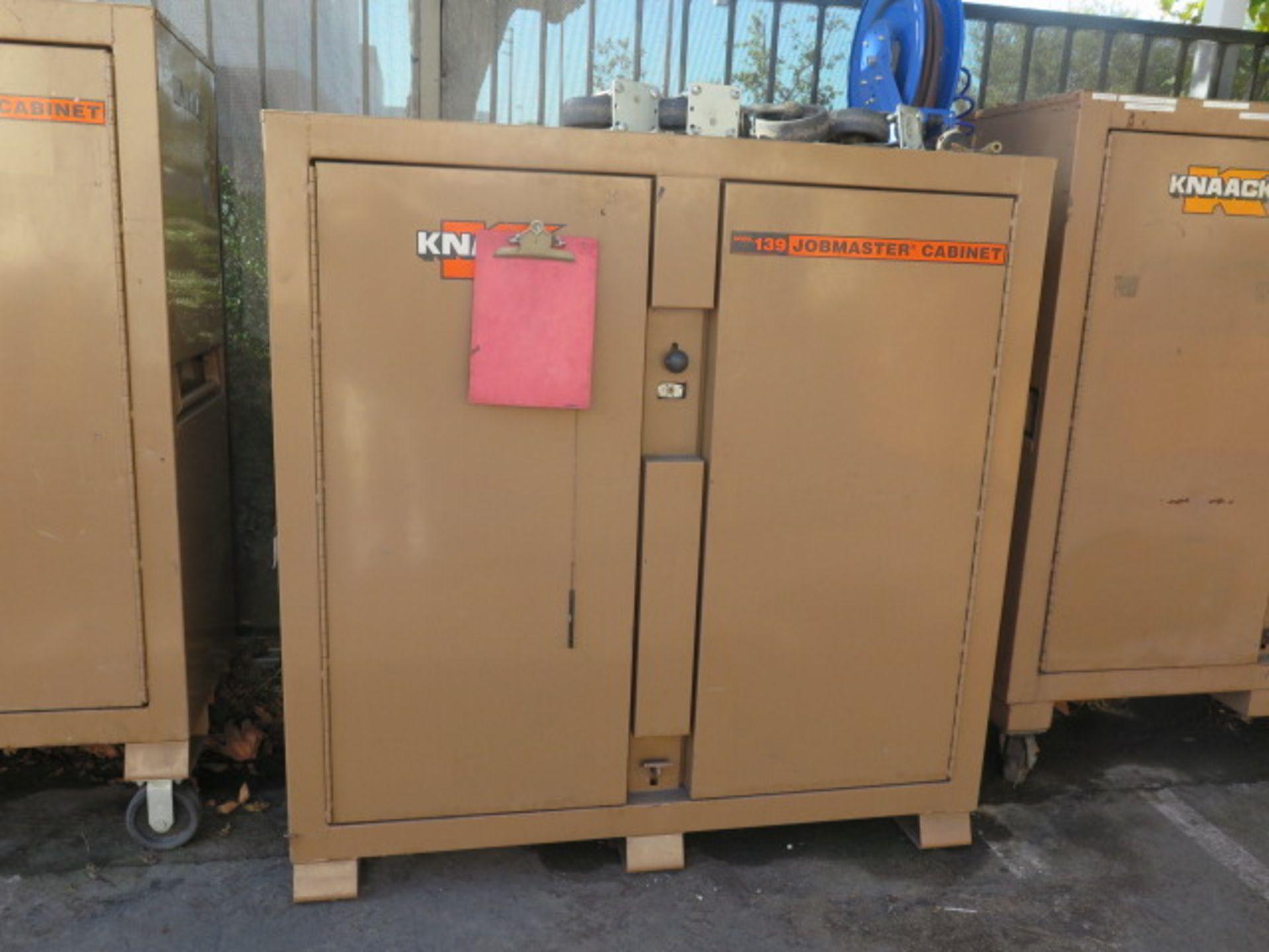 Knaack mdl. 139 Jobmaster Job Box (SOLD AS-IS - NO WARRANTY)