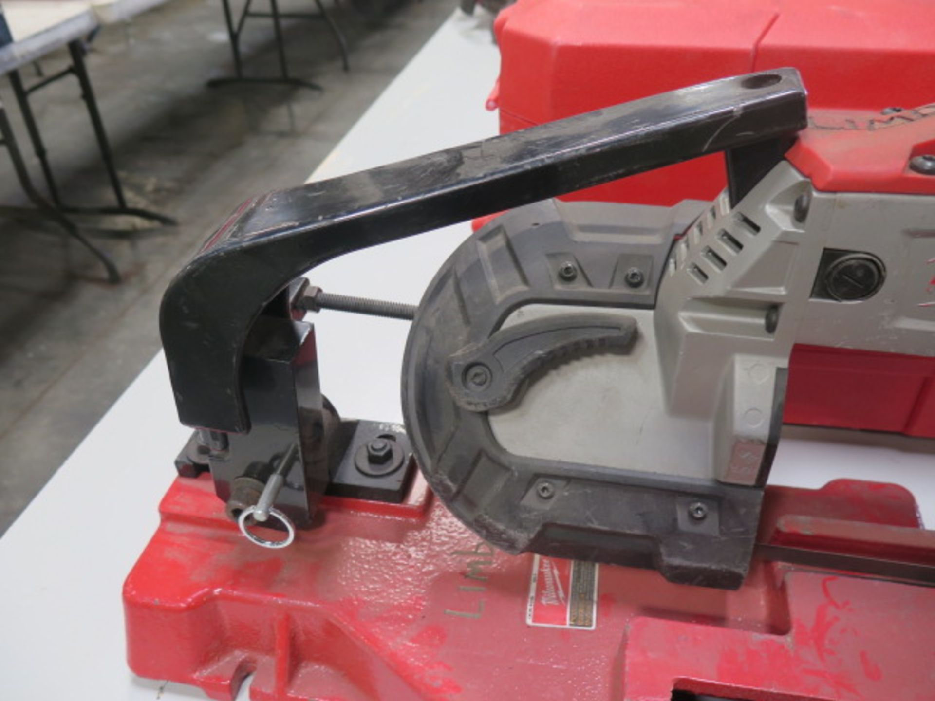 Milwaukee Deep Cut Electric Band Saw w/ Saw Stand (SOLD AS-IS - NO WARRANTY) - Image 5 of 5