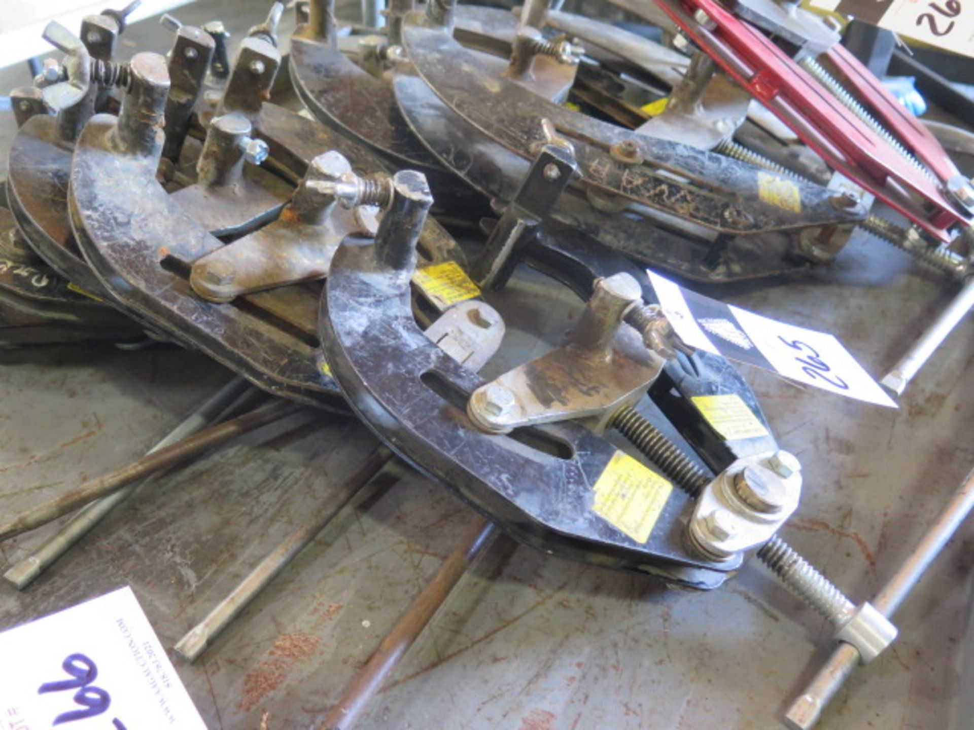 """2""""-6"""" Pipe Alighment Clamps(5) (SOLD AS-IS - NO WARRANTY) - Image 3 of 5"""