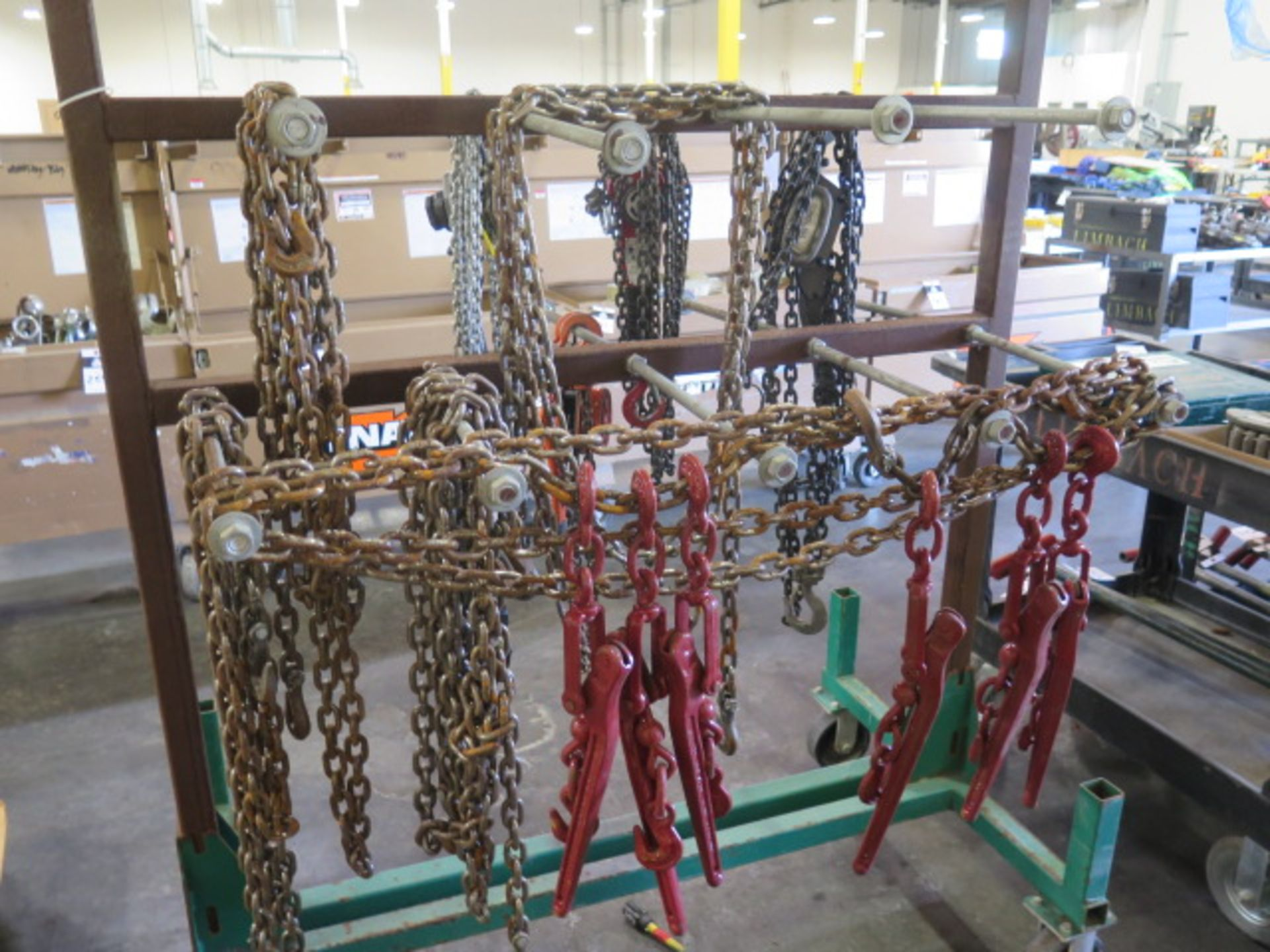 Chain Come-Alongs (4), Chain Tensioners (6) Chain and Cart (SOLD AS-IS - NO WARRANTY) - Image 5 of 11