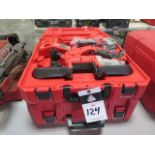 Milwaukee 18 Volt Compact Portable Band Saw Sets (2 NEW) (SOLD AS-IS - NO WARRANTY)