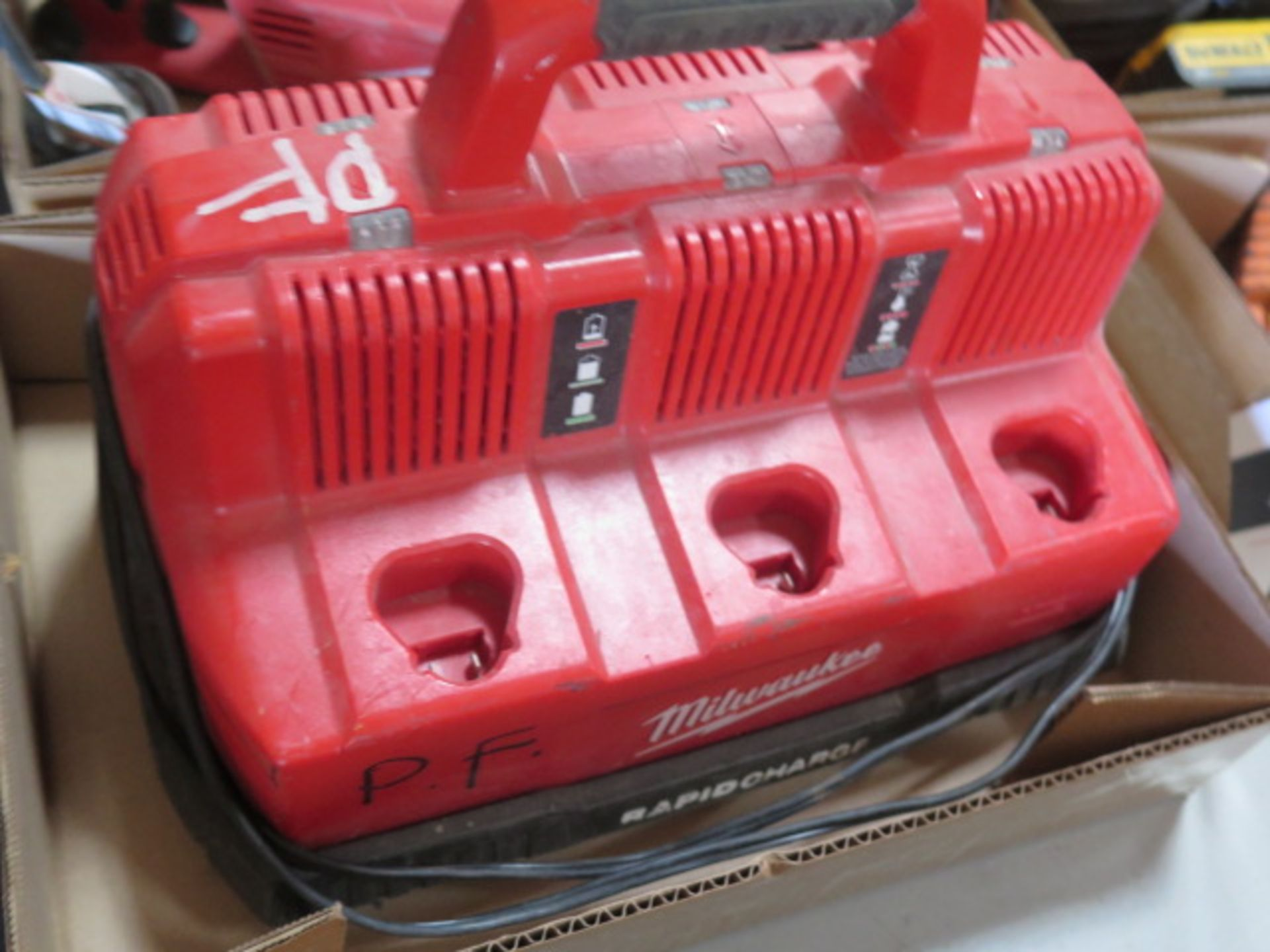 Milwaukee Battery Charger (SOLD AS-IS - NO WARRANTY) - Image 3 of 4