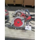 Milwaukee and Skilsaw Circular Saws (3) (SOLD AS-IS - NO WARRANTY)