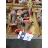 """Milwaukee 18 Volt 1/4"""" Nut Drivers (5) (SOLD AS-IS - NO WARRANTY)"""
