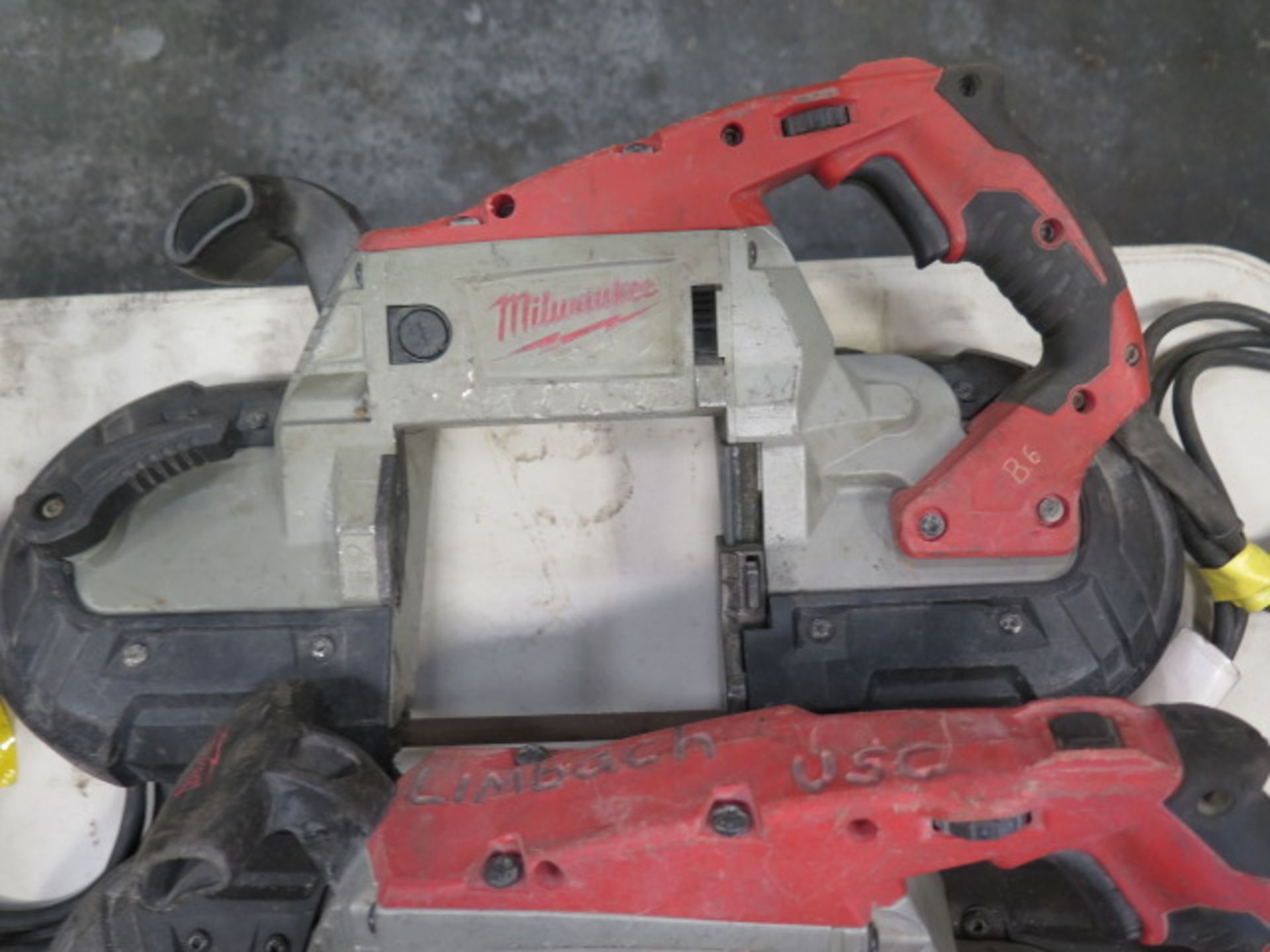 Milwaukee Deep Cut Band Saws (3) (SOLD AS-IS - NO WARRANTY) - Image 5 of 6