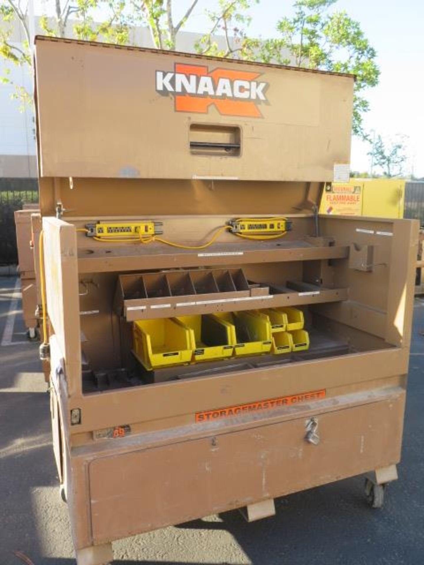 Knaack mdl. 89 Storagemaster Rolling Job Box (SOLD AS-IS - NO WARRANTY) - Image 4 of 12